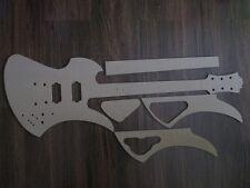 Siepe chitarra Stencil templates gitarrenbau