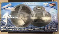 "Audiopipe 8"" Coaxial 2-Way Marine Speaker / ATV Speaker APSW-8502BK"