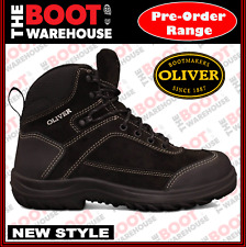 Oliver Work Boots, 34623, Steel Toe Safety, Suede Lace-Up, Ankle Jogger. NEW!
