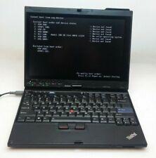 Lenovo ThinkPad X200 Tablet   Core 2 Duo U9400 @ 1.40ghz  2gb Ram  NO HD/O.S.