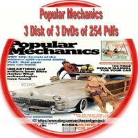 Popular Mechanic Magazines PDF Henry Haven Windsor 3 DVDs  3rd in Series of 3