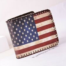 United States of America American Flag Mens Boys Wallet New Free Tracking