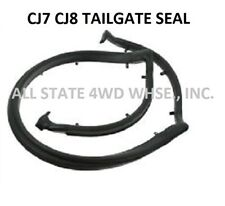 JEEP PARTS NEW TAILGATE WEATHERSTRIP RUBBER SEAL 1976-1986 CJ7 CJ8 SCRAMBLER