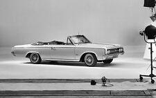 1964 Oldsmobile F 85 Cutlass Convertible at GM photo shoot 11 x 17 photograph