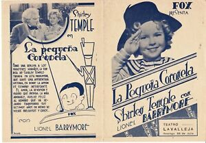 """SHIRLEY TEMPLE """"THE LITTLE COLONEL"""" 1935 MOVIE HERALD"""