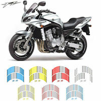 Motorcycle Wheel rim decals tape stripes stickers For Yamaha FZ 17 inch WHEEL