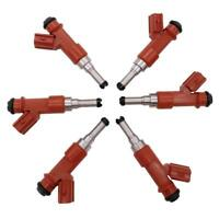 GENUINE DENSO FUEL INJECTORS for TOYOTA AURION KLUGER RAV4 TARAGO 3.5L