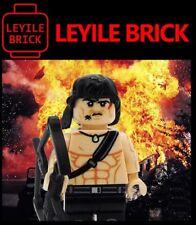 **New** LEYILE BRICK Custom First Blood John Rambo Lego Minifigure