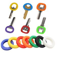 Key Cap Top Cover Caps Tag Head Id Markers Mix Colors Yale Key Toppers Uk New