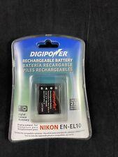 NEW Digipower Rechargeable Battery BPNKL10 Replacement for Nikon EN-EL10