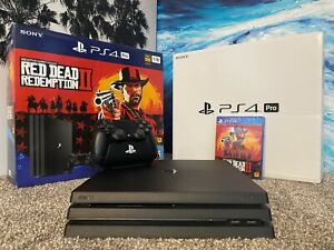1TB PLAYSTATION 4 PRO RED DEAD REDEMPTION 2 SYSTEM BUNDLE [SONY]