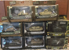 Unimax Forces of Valor 1/72 - Lot of 8 Tanks