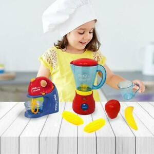Kitchen Food Cooking Appliance Large Blender & Mixer Pretend Play Toy Set