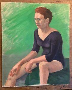 Marika Eversfield (1914-2014) - 20th Century Oil, dancer