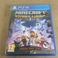 Minecraft Story Mode Playstation PS4 Adventure Video Game PAL