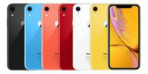 IPHONE XR 64GB, NEGRO - BLANCO, 1 AÑO GARANTIA + FACTURA + ACCESORIOS!
