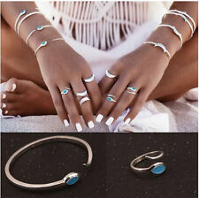 Turquoise Alloy Fashion Rings
