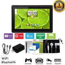"7"" Android 8.1 Quad-Core Tablet PC 8GB HD 2 Camera Bluetooth WiFi Kid Xmas Gift"