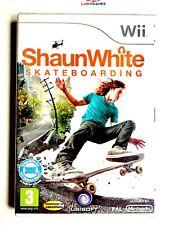 Shaun White Skateboarding PAL/SPA Wii Precintado Nuevo Sealed Perfecto Estado
