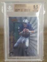 1998 Bowman's Best #112 Peyton Manning Rookie RC BGS 9.5 Gem Colts HOF