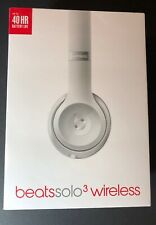 Beats by Dr Dre Solo 3 Bluetooth Wireless On-Ear Headphone [ Silver ] NEW