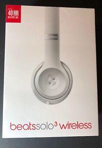 Beats by Dr Dre Solo 3 Wireless On-Ear Headphone [ Silver ] NEW