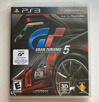 Gran Turismo 5 Sony PlayStation 3 Complete In Box Excellent Condition