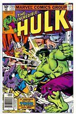 1)INCREDIBLE HULK #255(1/81)'HULK vs. THOR'(NEWSSTAND VARIANT CVR)CGC IT(9.8)HOT