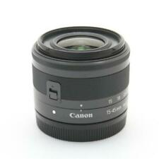 Secondhand Canon Ef-M15-5Mm F3.5-6.3 Is Stm Graphite Lens