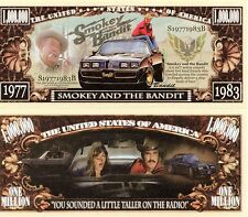 Smokey and the Bandit Movie Million Dollar Novelty Money