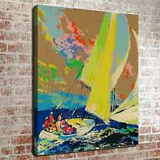 """The sailboat sailing on the sea 12""""x16"""" HD Print Canvas Home Decor wall Pictures"""