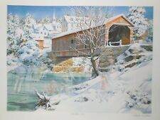 Charles Peterson Skaters Ice Door County Signed Number Collector Edition Print