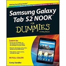 Samsung Galaxy Tab S2 NOOK For Dummies-ExLibrary