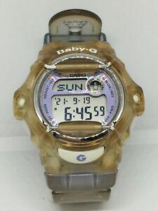 Casio Baby-G Women 3252 BG-169R Watch Silicone Strap Light Chronograph