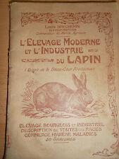 livre l'elevage et l'industrie du lapin   ( ref 2 )