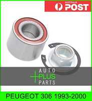 Fits PEUGEOT 306 Rear Wheel Bearing Repair Kit (25X52X37)