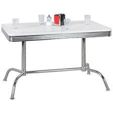 Esstisch 120 x 80 cm American Diner Möbel Bistrotisch Retro Bistrotisch Tisch US