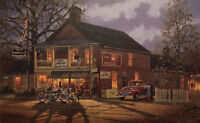 "Dave Barnhouse ""American Made"" 26"" x 16"" Ltd Edition Print Signed/Numbered w/COA"