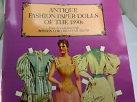 Dover Victorian Paper Dolls: Antique Fashion Paper Dolls of the 1890's