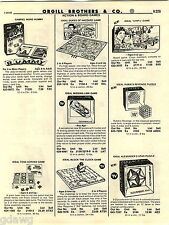 1982 ADVERT Ideal Dukes Of Hazzard CHIPS Game Rubik's Cube Game Pocket Race
