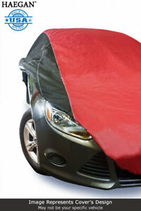 USA Made Car Cover Red/Black fits Nissan cube  2009 2010 2011 2012 2013 2014