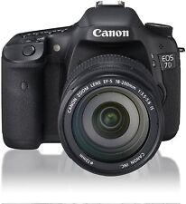 Canon DSLR Camera EOS 7D Lens Kit EF-S18-200 mm F 3.5-5.6 IS EOS7D18200ISLK USED