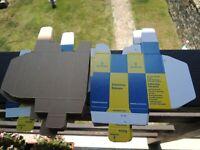 VTG.SIEMENS&HALSKE AG CARTON BOX for Radio Tubes 6267,12ax7/ecc803S,E83CC,E88CC