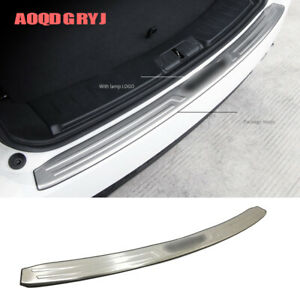 For Jaguar E-PACE 2018-2019 steel Trunk External pedal trim cover protector 1pcs