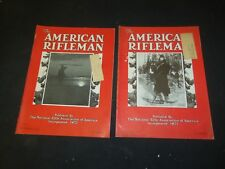 1934 THE AMERICAN RIFLEMAN MAGAZINE - LOT OF 2 - O 3027