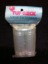 Rare NOS Silver TUF NECK 24T & 26T PEGS Old School BMX Pro Axle Extenders Tuff