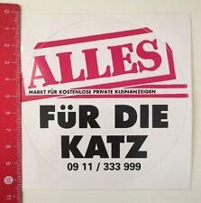 Aufkleber/Sticker: Alles Für Die Katz-Kostenlose Private Kleinanzeigen(05031698)