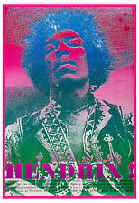 Rock: Jimi Hendrix Experience at Toronto Concert Poster 1969 13x19