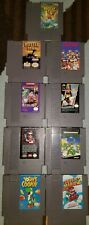 Nintendo NES 9 Game Lot (Ninja Turtles, Mario, Terminator, Nemo, etc.)