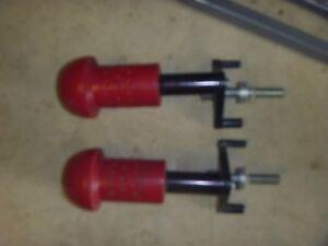 Puig Red Yamaha YZFR1 R1 Footpeg Peg Frame Sliders